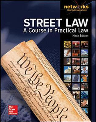 Street Law A Course In Practical Law Student Edition 9780021429257 Abe Ips
