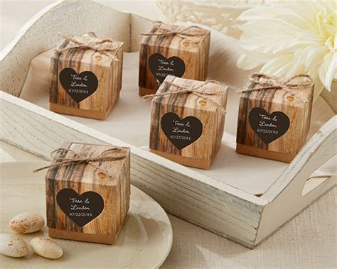 Pittsburgh wedding photographers, Rustic Winter Wedding favors
