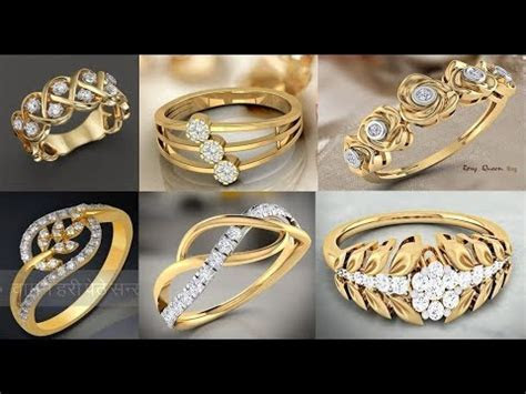 latest gold ring designs/ Daily Wear Gold Rings Designs