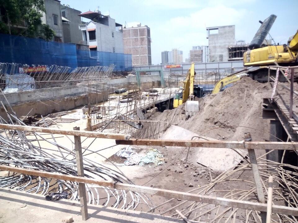 Tiến độ công trình Vinafor Plaza 48 Vạn Phúc
