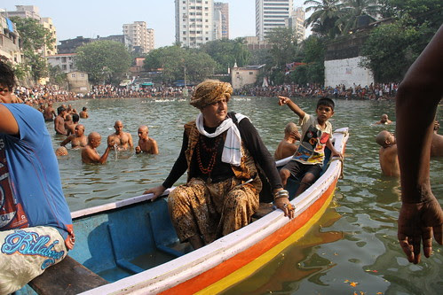 Shooting From The Boat At Banganga by firoze shakir photographerno1