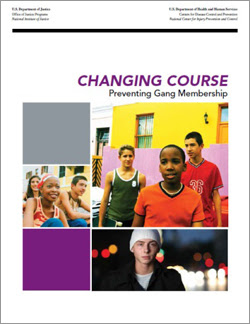 "Cover for the book, ""Changing Course, Preventing Gang Membership"""