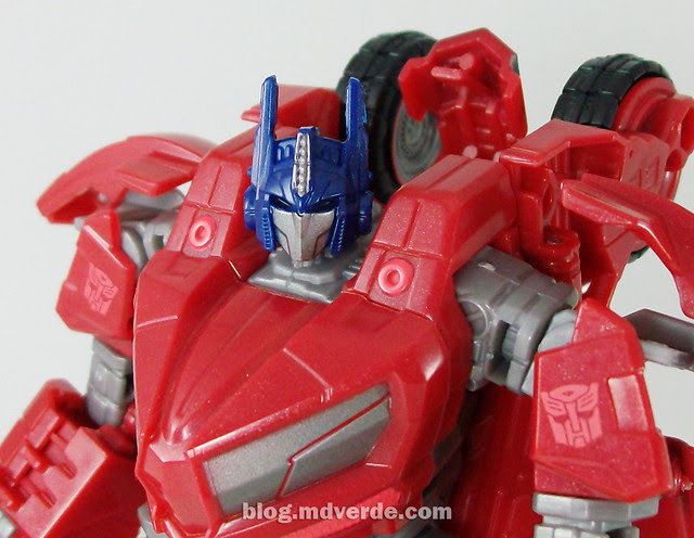 Transformers Cybertronian Optimus Prime Generations Deluxe - modo robot