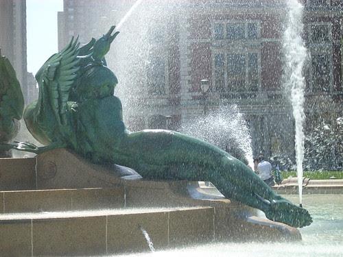Logan Square Fountain C