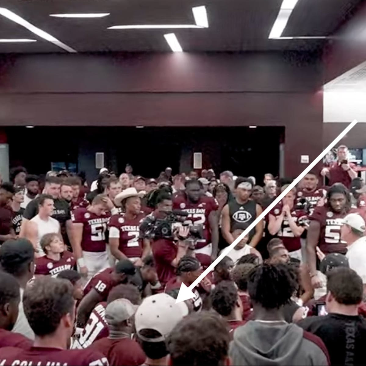How a 22-Year-Old UTSA Student Faked His Way Into Texas A&M's Post-Alabama Locker Room
