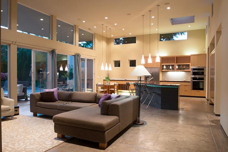 Open Concept Modern Kitchen Design Kithen Design