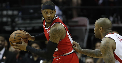 Avatar of Carmelo Anthony continues resurgence, tops Rockets