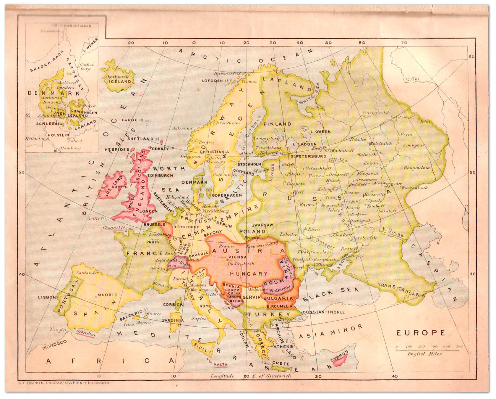 Map Of Europe 1908 Map Of Us Western States - Us-map-1908