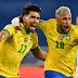 Com gol de Paquetá, Brasil vence o Peru e vai para mais uma final de Copa América