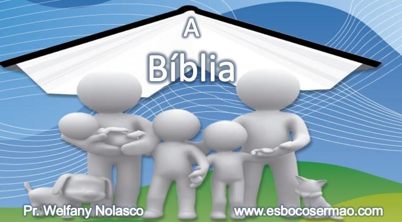 A origem da Bíblia - Pr. Welfany Nolasco