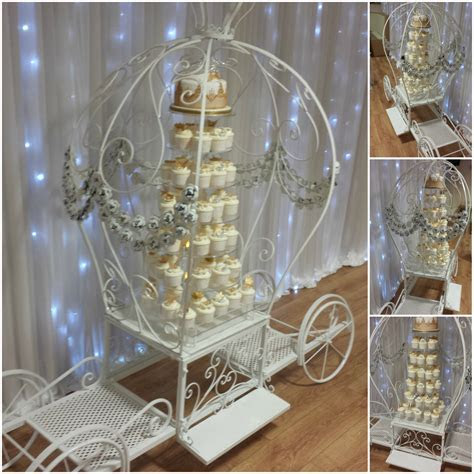 Princess Carriage Cake Stand   Ozzy James Parties & Events