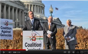 Congressman Trent Franks speaking at CAG Press Conference
