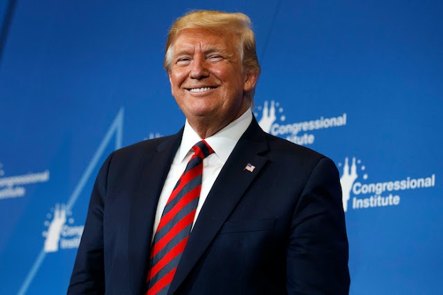 GOD WHEN? Donald Trump Set To Give Americans N455,000 Each