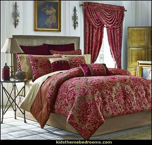 Elegant French Boudoir-Themed Bedroom Style - Interior design