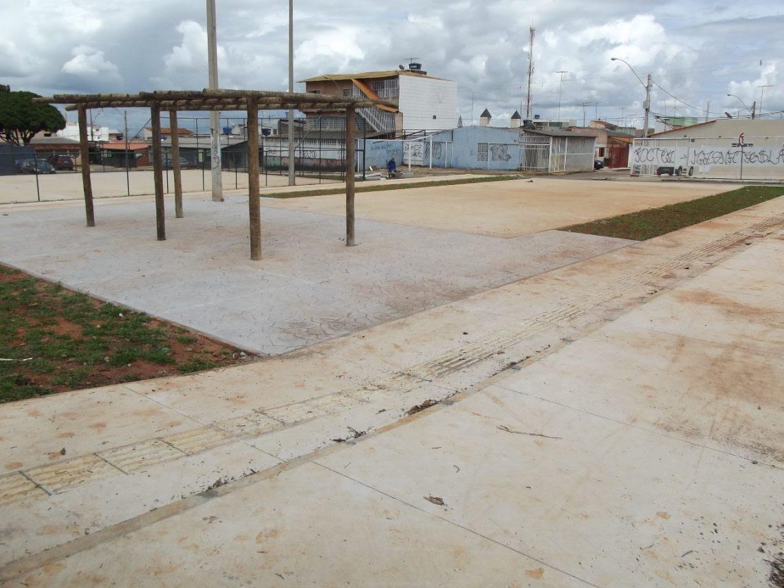 Resultado de imagem para Revitalização da praça da QNP 16
