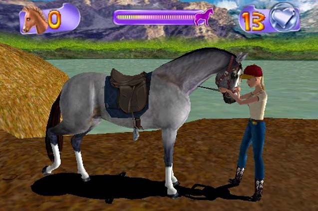 Schöne Pferdespiele