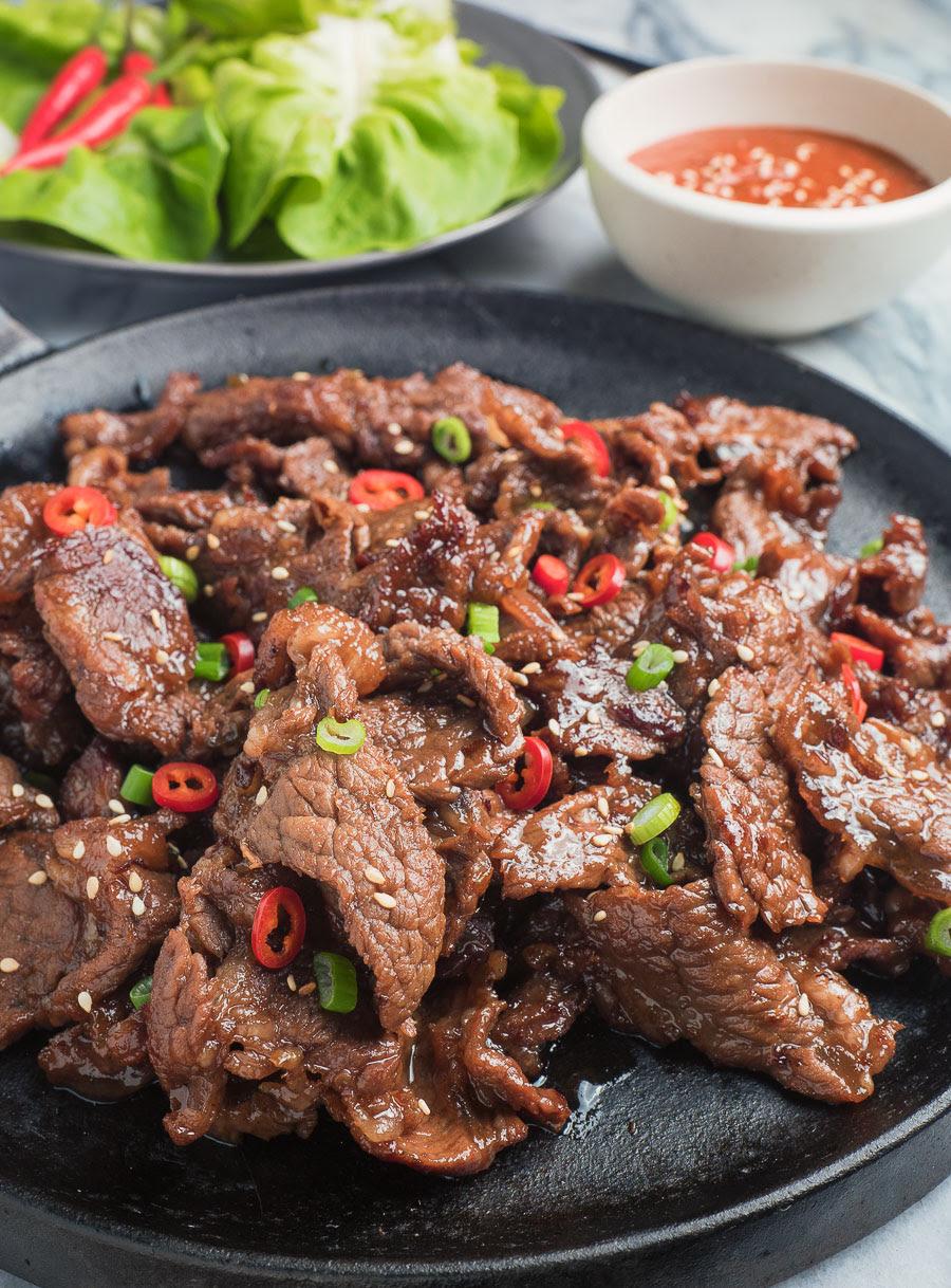 easy korean beef bulgogi - glebe kitchen