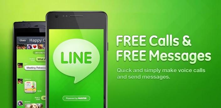 LINE Free Calls Messages خدمة الدردشة الفورية Line تتجاوز 150 مليون مشترك