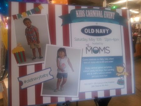 Carnival Fun with TheMoms and Old Navy
