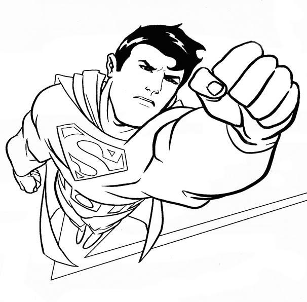 71 Dessins De Coloriage Superman à Imprimer Sur Laguerchecom Page 1