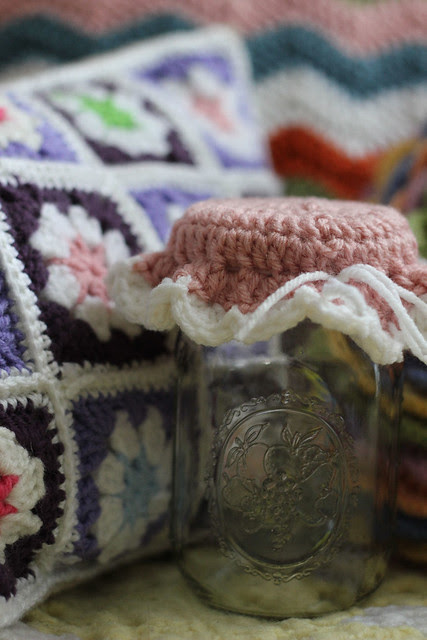 Crochet Jar Topper