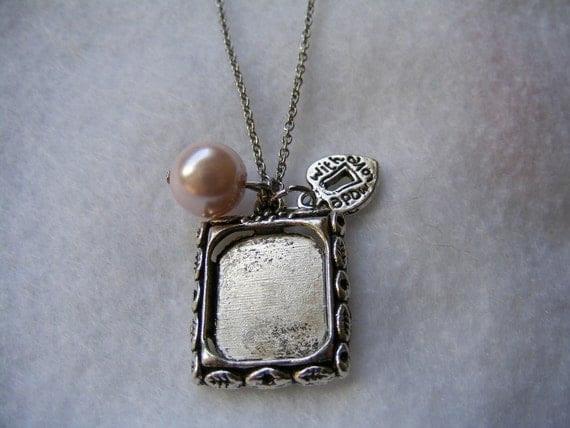 Necklace Photo Charm