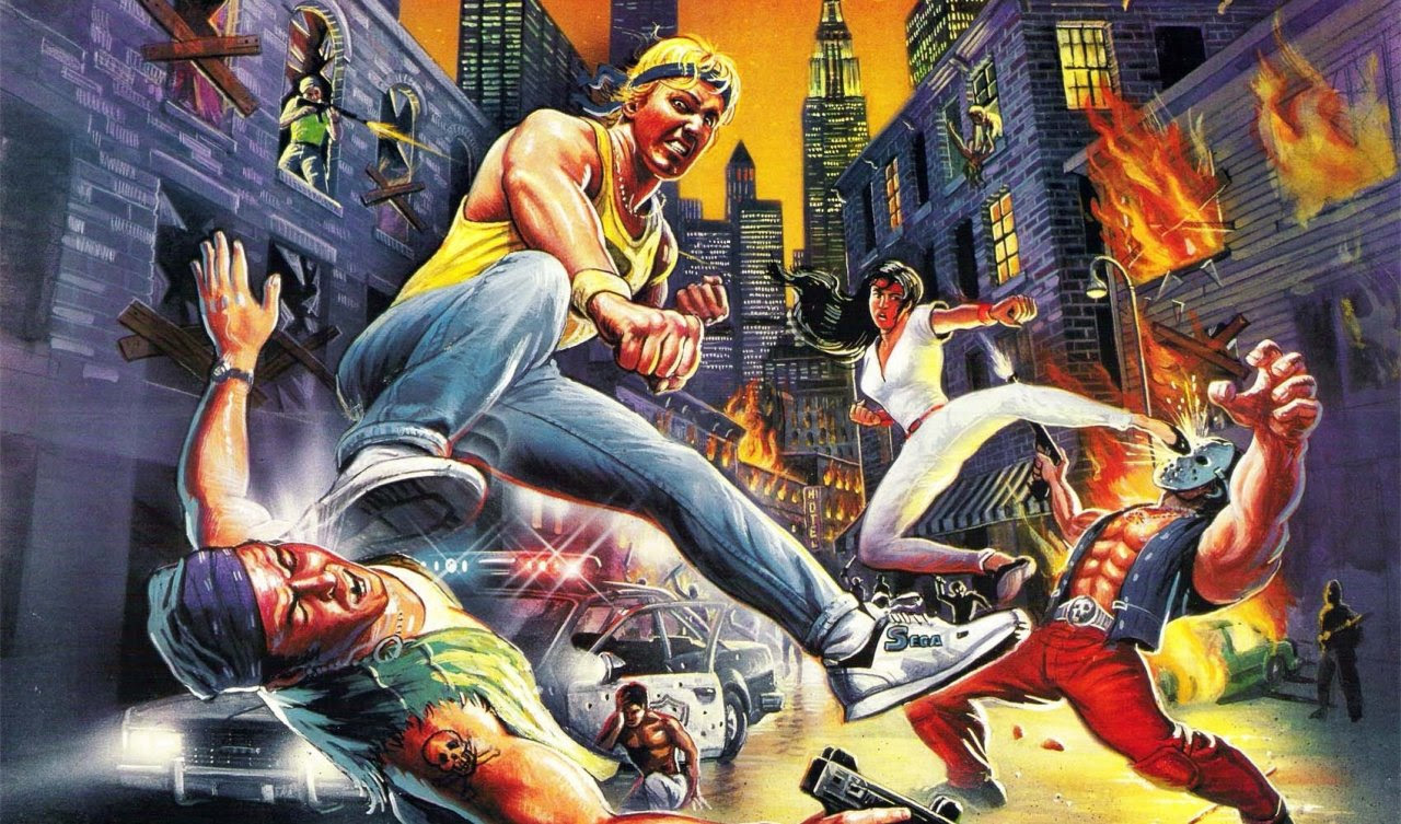 Sega Retrospective Streets Of Rage 25 Years Of Beat Em Up