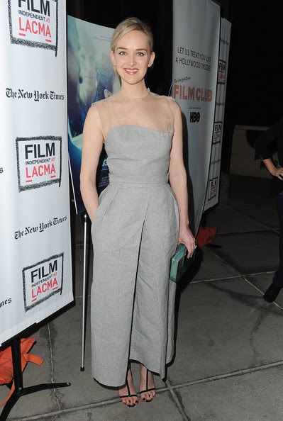 "Jess Weixler - Screening Of IFC Films' ""The Face Of Love"" - Red Carpet"