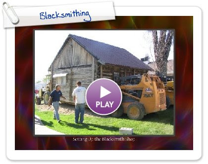 Click to play Blacksmithing