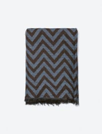 Zara Zigzag Weave Scarf