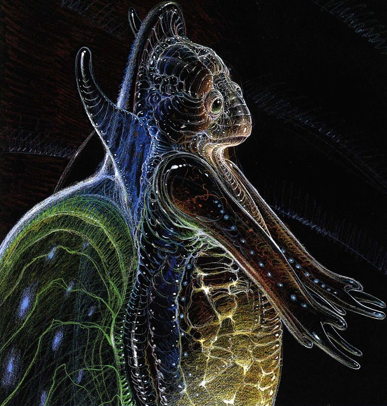 Moebius - Alien Concepts For Abyss 1
