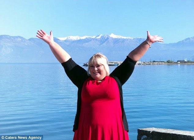 Elizabeth diz que tentou várias dietas, mas nunca tive um pouco de sorte. Ela agora pesa 20st e veste um tamanho 22