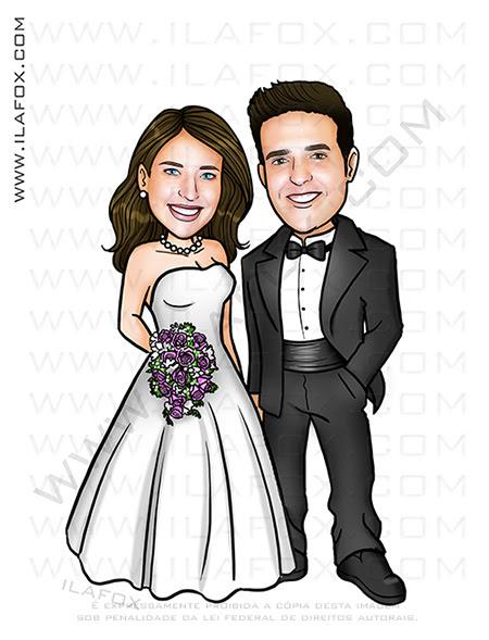 caricatura para casamento, caricatura para noivinhos, caricatura personalizada, caricatura bonita, caricatura digital, caricatura sob encomenda, caricatura casal, by ila fox