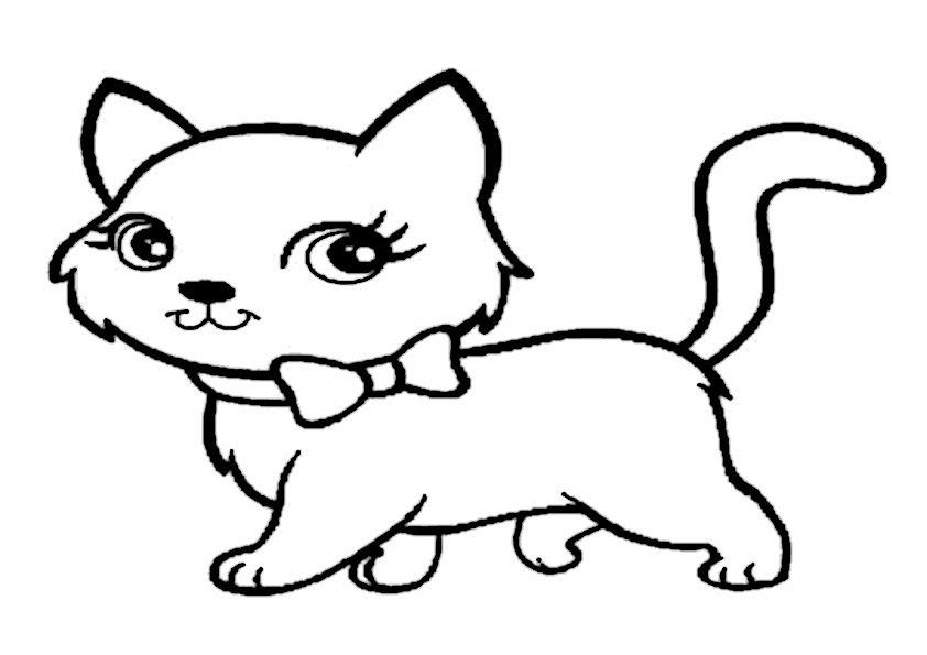 ausmalbilder kostenlos ausdrucken katzen