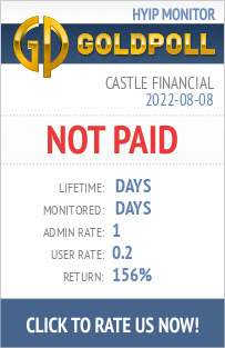 Castle Financial HYIP Details on GoldPoll