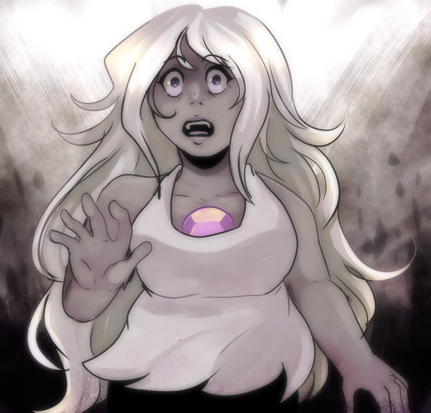 this Amethyst arc is gonna hit me a little too hard