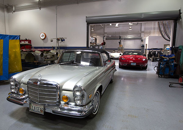Mercedes-Benz Classic Center Workshop (NOTCOT)