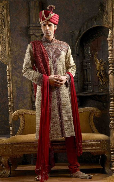 sherwani outfit for ceremony   Indian Ceremony Look