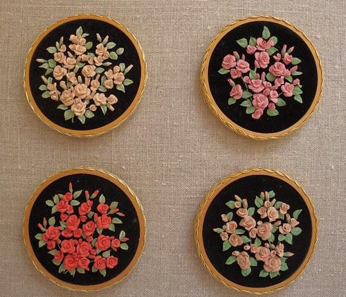 Rose plaques