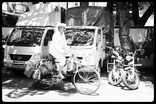 One Day In The Future Dabbawala Will Deliver Tiffin On Motorbikes And Their Own Vans by firoze shakir photographerno1