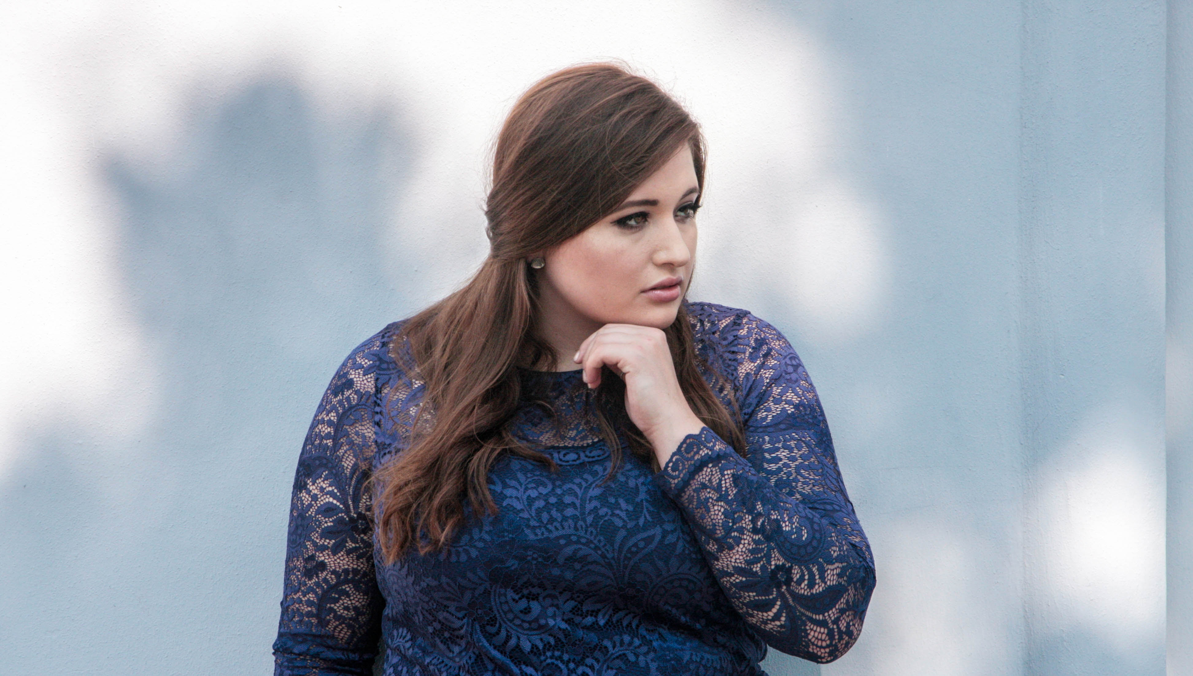 plus size fashion: abendkleid anna scholzsheego & let´s