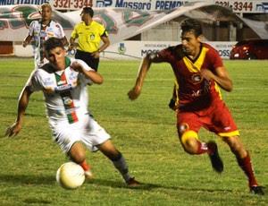 Baraúnas e Globo FC disputam final da Copa FNF no Estádio Nogueirão, em Mossoró (Foto: Alcivan Costa/Gazeta do Oeste)