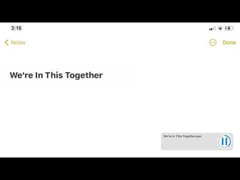Justin Bieber - We're In This Together Lyrics