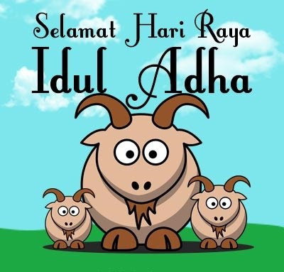 Kumpulan Gambar  DP BBM GIF Bergerak Hari Raya Idul Adha