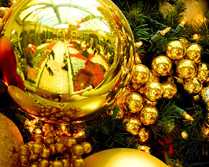 the decorations of christmas