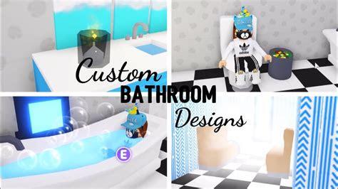 custom bathroom design ideas building hacks roblox