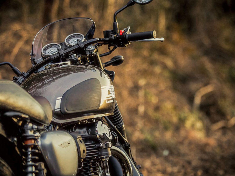Kawasaki Prepping New W800 Model For 2020 Cycle World