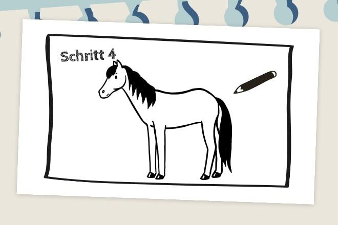 pferd zeichnen einfach  best ausmabilder 2020