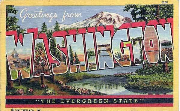 Washington Greetings from Pinterest