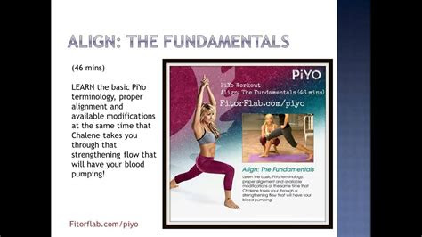 piyo workout  chalene johnson overview